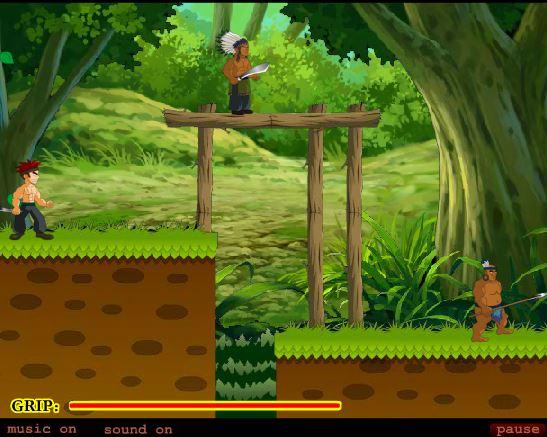 بازی آنلاین پسر جنگل