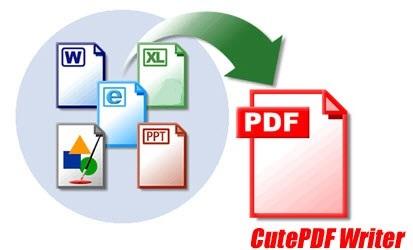 ساختن PDF از فرمت های مختلف با CutePDF Writer 3.0.1.0