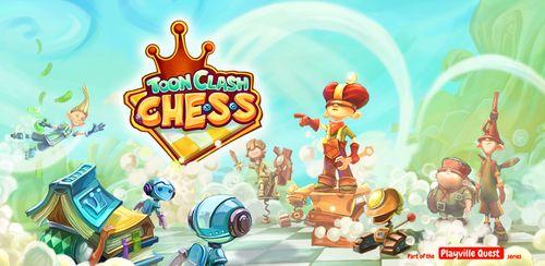 دانلود بازی اندروید Тoon Clash Chess v1.0.3