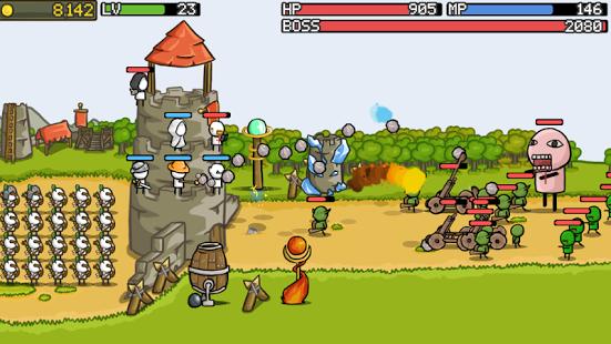 دانلود بازی اندروید Grow Castle v1.19.4
