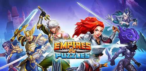 بازی جورچین اندروید Empires & Puzzles: RPG Quest v1.10.2