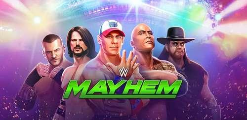 دانلود بازی اندروید WWE Mayhem v1.4.18 + data