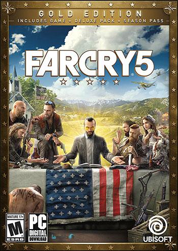 دانلود بازی فارکرای ۵ – Far Cry 5 Gold Edition برای کامپیوتر