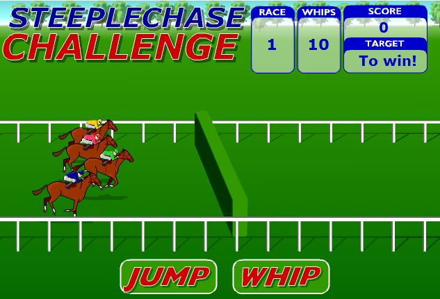 بازی انلاین اسب سواری