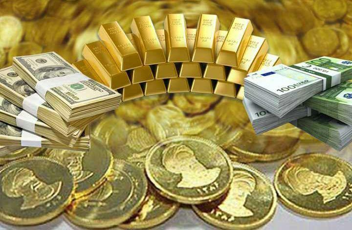 قیمت دلار و طلا و ارز و سکه 21 فروردین 1397