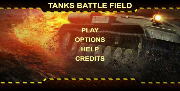 اسکریپت بازی آنلاین HTML جنگ تانک ها Tanks Battle Field