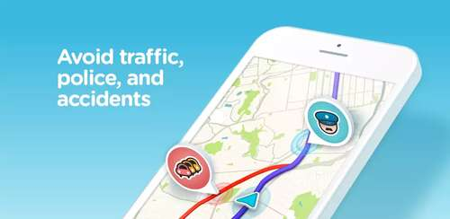 دانلود نرم افزار اندروید Waze – GPS, Maps, Traffic Alerts & Live Navigation v4.46.2.902