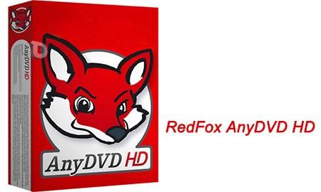 نرم افزار رایت و کپی دیسک RedFox AnyDVD HD 8.1.7.1 Beta