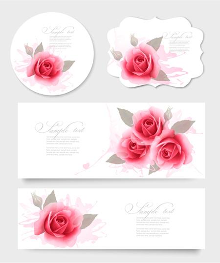 نمونه هایی زیبا از کارت پستال های گل