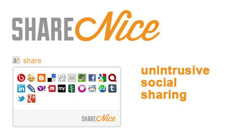 اسکریپت اشتراک گذاری مطالب ShareNice