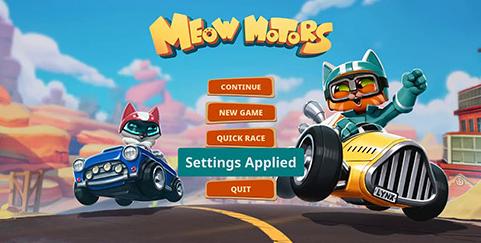 بازی مسابقات گربه ها (برای کامپیوتر) - Meow Motors PC Game