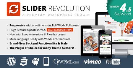 ایجاد اسلایدر حرفه ای در وردپرس با Slider Revolution نسخه 4.6