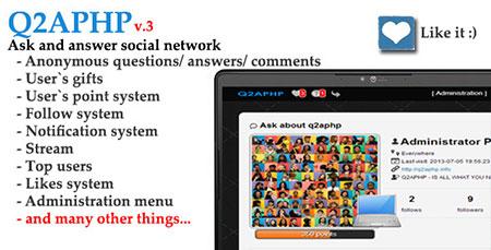 اسکریپت جامعه مجازی پرسش و پاسخ Q2APHP