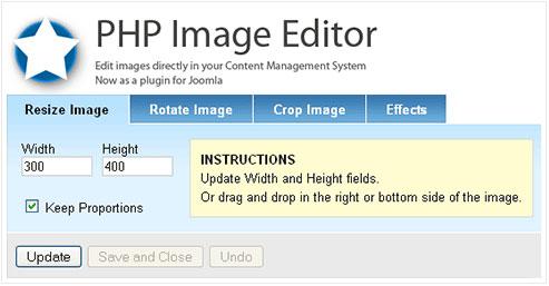 اسکریپت ویرایشگر تصاویر PHP Image Editor