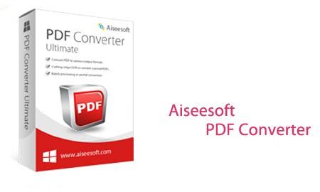 نرم افزار تبدیل اسناد PDF با Aiseesoft PDF Converter Ultimate 3.3.20
