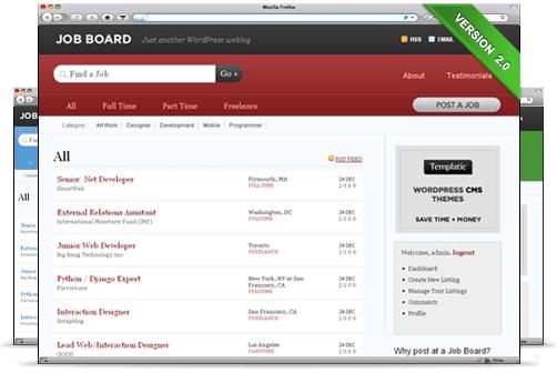ایجاد سایت کاریابی به وسیله پوسته Job Board وردپرس