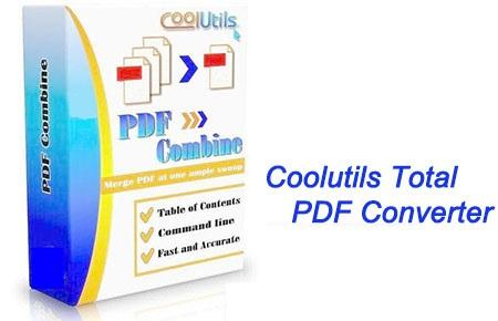 دانلود نرم افزار مبدل اسناد پی دی اف – Coolutils Total PDF Converter 6.1.0.186