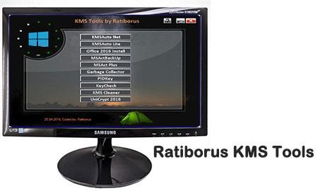 دانلود فعال ساز ویندوز ۱۰ و آفیس ۲۰۱۹ – Ratiborus KMS Tools 15.02.2019