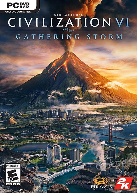 دانلود بازی Sid Meier's Civilization VI Gathering Storm برای PC
