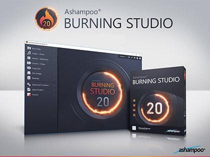 دانلود نرم افزار رایت آشامپو – Ashampoo Burning Studio 20.0.4.1 + Portable