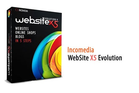 طراحی وبسایت با Incomedia WebSite X5 Professional 12.0.0.12