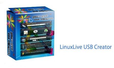 نرم افزار اجرای لینوکس در ویندوز LinuxLive USB Creator v2.9.4