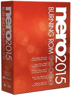 نرم افزار حرفه ای رایت CD و DVD نرو - Nero Burning ROM 2015 v16