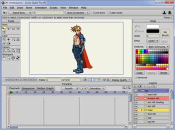 ۱۹ ابزار برای ساخت انیمیشن