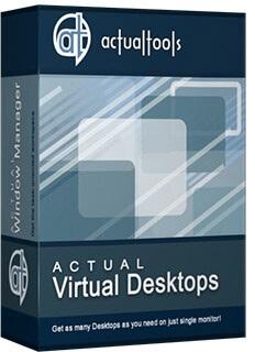 نرم افزار دسکتاپ مجازی (برای ویندوز) - Actual Virtual Desktops 8.13.3 Windows