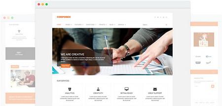 قالب شرکتی و خدماتی Corporex برای جوملا