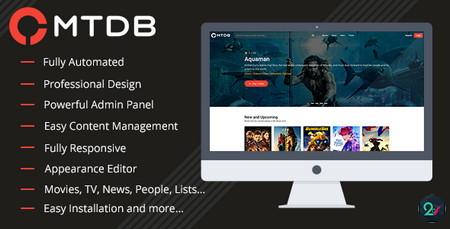 اسکریپت نقد و بررسی فیلم و سریال MTDb نسخه 3.1.1
