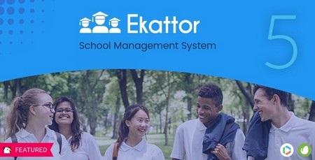 اسکریپت مدیریت مدارس Ekattor نسخه 6.1 ( آپدیت بزرگ )