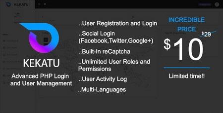 اسکریپت پیشرفته عضویت و مدیریت کاربران Kekatu