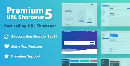 اسکریپت کوتاه کننده لینک Premium URL Shortener نسخه 5.5