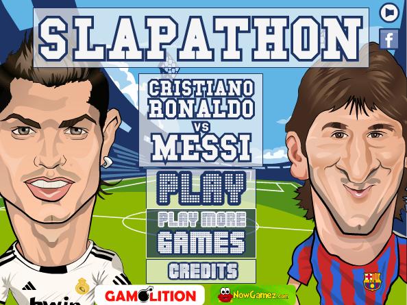 بازی آنلاین دعوای رونالدو و مسی