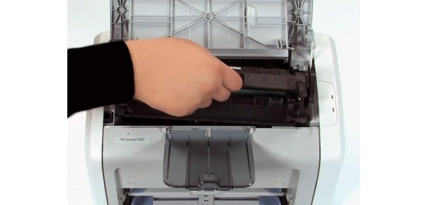 چگونه یک کارتریج تونر را در پرینتر لیزری عوض کنیم؟