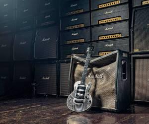 اولین گیتار چاپ 3 بعدی ضد ضربه جهان ! + تصاویر