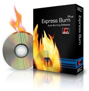 نرم افزار ساده رایت CD و DVD با امکانات کامل - Express Burn Plus 4.62