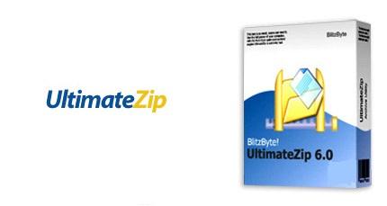 نرم افزار فشرده سازی با سرعت بالا و حداکثر کاهش حجم - UltimateZip v6