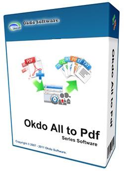 نرم افزار تبدیل اسناد به PDF (برای ویندوز) - Okdo All to Pdf Converter Professional 5.6 Windows