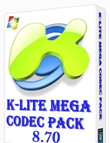 کدک پخش تمام فرمت های صوتی و تصویری - K-Lite Mega Codec Pack 8.70