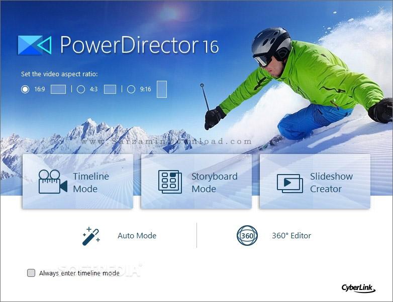 نرم افزار ویرایش فیلم (برای ویندوز) - CyberLink PowerDirector Ultimate 17.0.2727.0 Windows