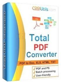 نرم افزار تبدیل PDF به سایر اسناد اداری (برای ویندوز) - Coolutils Total PDF Converter 6.1.0.191 Windows