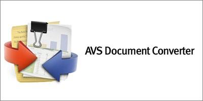 نرم افزار تبدیل فرمت اسناد (برای ویندوز) - AVS Document Converter 3.1 Windows