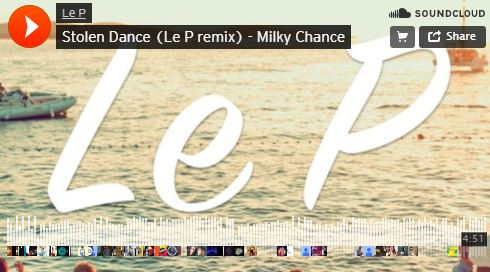 موزیک آنلاین Stolen Dance (Le P remix) - Milky Chance