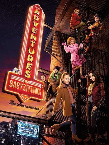 دانلود فیلم ماجراهای نگهداری از کودکان Adventures in Babysitting 2016