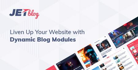 طراحی صفحات وبلاگی و خبری در صفحهساز Elementor با افزونه JetBlog