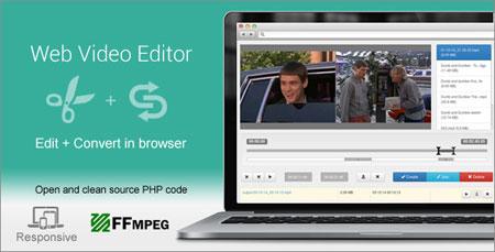 اسکریپت ویرایشگر آنلاین ویدئو Web Video Editor