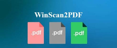 نرم افزار تبدیل عکس به پی دی اف (برای ویندوز) - WinScan2PDF 4.78 Windows
