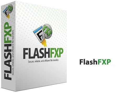 نرم افزار اف تی پی (برای ویندوز) - FlashFXP 5.4.0 Windows